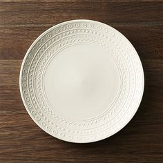 Scribe Dinner Plate | Crate and Barrel