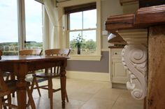 2010 Wayside House Darley Harrogate - Kitchen Feature Corbel designed & built by Derry Construction Limited