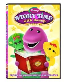 barney's happy valentine's day book