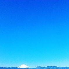 ちょこっと富士山 #landscape