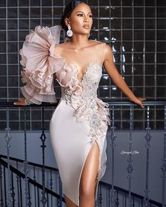Would you rock this dress for your bridal shower or as your reception dress? by Events Elegant Dresses, Pretty Dresses, Beautiful Dresses, Evening Dresses, Prom Dresses, Sexy Dresses, Summer Dresses, Formal Dresses, Wedding Dresses