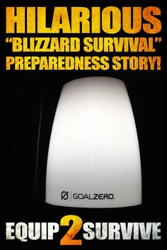 """HILARIOUS """"Blizzard Survival"""" preparedness story that I just had to share!! MUST read for anyone who is a preparedness enthusiast!"""