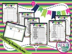 FREE Procedure Planner & Organizer {EDITABLE!} | TpT