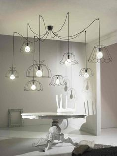 Modern Pendant Light Kitchen Island Chandelier 9 Light