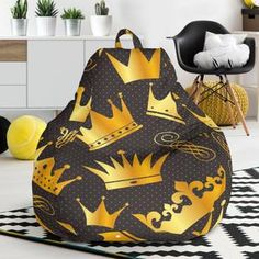 Queen And King Bean Bag Chair – This is iT Original Bean Bag Chair, Custom Made, Beans, Just For You, King, Bag Chairs, Queen, The Originals, Interior