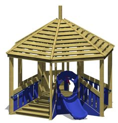 Play pyramid view 1 - A toddler's delight for climbing, stepping, crawling and sliding. The variety of materials and textures makes this pyramid universal for all toddler fun.