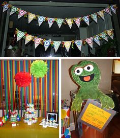 Sesame Street birthday party!