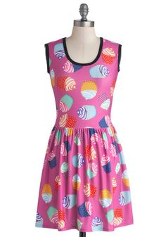 My Kinda Gallop Dress in Cupcakes, #ModCloth