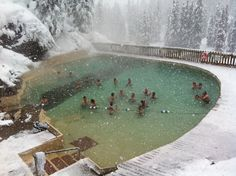 Granite Hot Springs - WY Used to swim here with friends when we were in high school. It wasn't developed in the '60's.