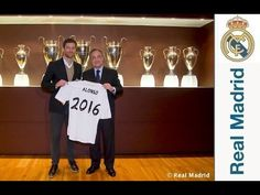 Realmadrid LIFE: Xabi Alonso & Sergio Rodríguez extend their contracts with Real Madrid
