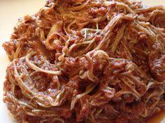 Raw/vegan Zucchini angel hair pasta in a zesty marinara sauce :)
