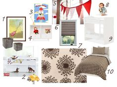 Share Boys Room- Curious George with Bunkbed