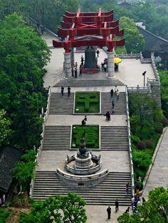 Yellow Crane Tower Park ~~ WUHAN (黄鹤楼公園- 武汉)