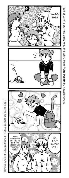Fruits Basket Doujinshi 2 by agent-indigo.deviantart.com on @deviantART