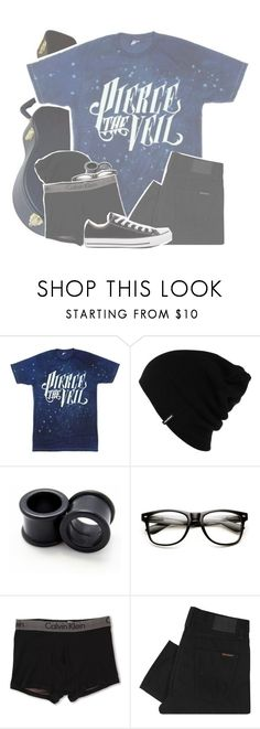 """☾;  ""as we own this night i put your body to the test with mine"""" by xx-beautifully-insane-xx ❤ liked on Polyvore featuring Patagonia, Calvin Klein Underwear, Nudie Jeans Co. and Converse"