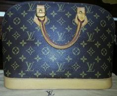 Louis Vuitton Monogram Alma Brown Bag - Satchel $488
