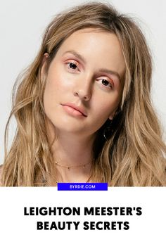 How to do your makeup like Leighton Meester