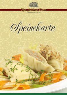 SPEISEKARTE - Goldener Löwe