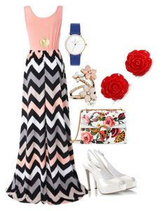 """""""Untitled #37"""" by amoonabusharia ❤ liked on Polyvore featuring Chicnova Fashion, Fratelli Karida, Gucci, Accessorize and Finn"""