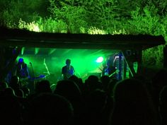 BasementArtsPro ‏@BasementArtsPro  Aug 13 Braziers Park MDC perform amongst the foliage on the Shed Stage - late night Friday in a field @SUPERNORMALFEST