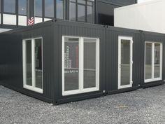 BÜROCONTAINER, ,Wohncontainer,Containeranlage,Pavillonanlage, Container mit WC