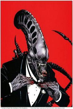 Alien Black Tie