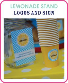 "Talk to your kids about earning and saving money - it's never too early!  There are lots of ways that children can be creative and earn pocket money.  Check out ""Make it Count"" (www.makeitcountonline.ca) for ways to have the conversation!  And here's a website with some cute printables for their very own lemonade stand this summer!"