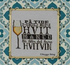 Hardanger Embroidery, Cross Stitch, Sayings, Quotes, Humor, Threading, Deko, Crossstitch, Quotations