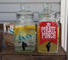 Arggg! Fun Pirate Birthday Party Photos   Inspiration! Pirate Punch