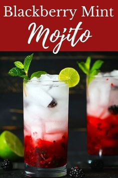 Blackberry Mint Mojito | Blackberry Mojito, Cocktail, Gluten Free Mint Mojito, Mojito Cocktail, Blackberry Mojito Recipes, Sparkling Drinks, Alcohol Drink Recipes, Gluten Free Cakes, Holiday Drinks, Alcoholic Drinks, Beverages