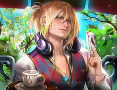 Modern Howl by Sakimichan