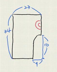 유럽형 블루머 사이즈예요 패턴이라고 까지 할건 없지만... 패턴 그리기도 싶고 만들기도 쉬운 아이템이랍...