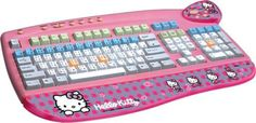 Holiday, Holiday Shopping, Tech for kids, keyboards for kids, Hello Kitty Keyboard Sanrio Hello Kitty, Hello Kitty Toaster, Hello Kitty House, Hello Kitty Items, Hello Kitty Merchandise, Hello Kitty Imagenes, Hello Kitty Pictures, Geek Gadgets, Gifts