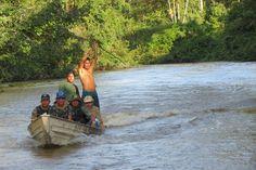 Parte da equipe da Expedição Rio dos Veados. Leia o diário de viagem completo e veja outras imagens da Expedição Rio dos Veados > isa.to/1ag7MYF