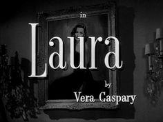 Laura (1944) (titolo ita: Vertigine)  Directed by: Otto Preminger  Starring: Gene Tierney, Dana Andrews, Clifton Webb