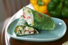 Veggie Wrap with Tzatziki Sauce   Hungry Hannah