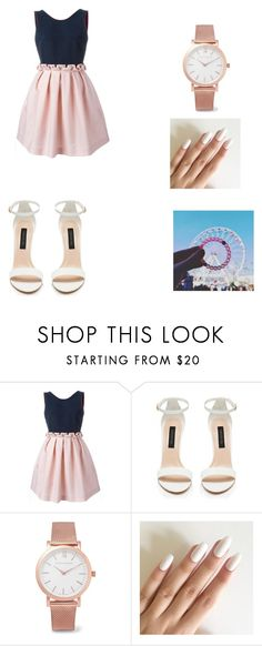 """""""dinner or part outfit"""" by magdalenafrancisco ❤ liked on Polyvore featuring Mother of Pearl and Larsson & Jennings"""