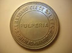Ficha Oficina San Antonio. Pulperia. 2 Pesos Chile, Light And Shadow, San Antonio, Canon, Personalized Items, Past Tense, Index Cards, Boats, Souvenirs