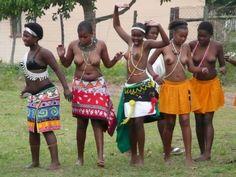 Zulu women clothing
