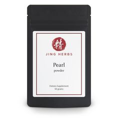 Jing Herbs Pearl Powder for beauty and radiant skin and bright eyes! – JingHerbs Thin Layer Chromatography, Dragon Bones, Raw Materials, Stress And Anxiety, Superfood, Herbalism, Powder, Herbs