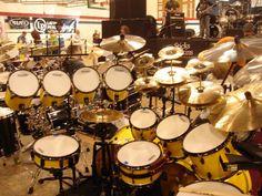 monster drum sets   Thread: Black Pearl Hardware