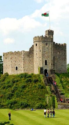 The Keep of Cardiff Castle, Cardiff, South Wales, UK