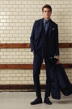A Look at Gant Rugger Fall Winter 2013 Best Mens Fashion, Men's Fashion, Queer Fashion, Fashion Photo, Fashion Design, Interview Dress, Belted Cardigan, Modern Gentleman, Well Dressed Men