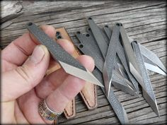 Mini kiridashi EDC knife neck knife carving knife por HKnives