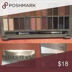 Ellen Tracy 24 Eyeshadow Palette Day to Night NWT 3 Avail.  Nudes to Smokey in this amazing palette with an in incredible amount of product for its size.  NWT in box Ellen Tracy Makeup Eyeshadow