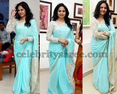Sunitha Singer Full Sleeves Blouse   Saree Blouse Patterns