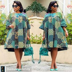 100 Latest Ankara Styles 2020 for High Class Beautiful Ladies. Beautiful Ankara Styles Beauty is everything in the world today and as a lady, Ankara Latest African Fashion Dresses, African Print Dresses, African Print Fashion, Africa Fashion, African Dress, Ankara Fashion, Nigerian Fashion, African Prints, African Attire