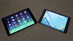 iPad Air 2 vs Nexus 9 | It's a clash of the tablet titans in our battle of the big guns, Apple and Google. Buying advice from the leading technology site
