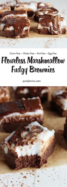 Fudgy Quinoa Brownies | Recipe | Quinoa, Brownies and Millet Flour