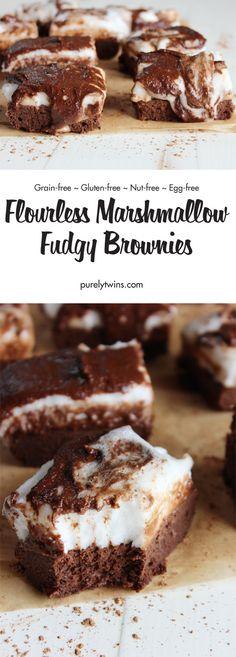 Fudgy Quinoa Brownies | Recipe | Quinoa, Brownies and Millet Flour